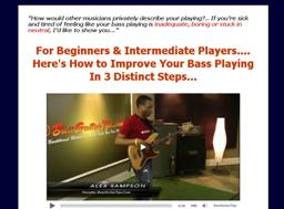 bass guitar secrets alex sampson