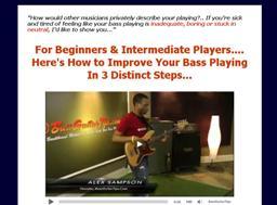 bass guitar secrets alex sampson