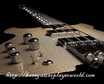 bowed guitar neck
