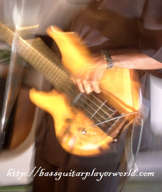 blurry orange bass movement