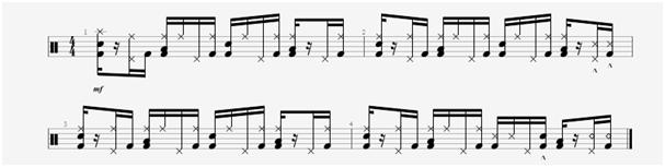 drums groove