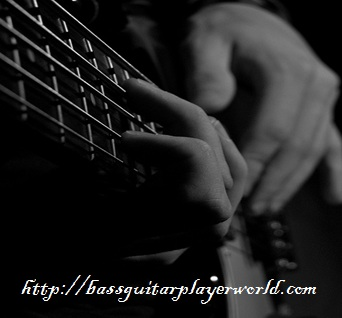finger tapping on bass