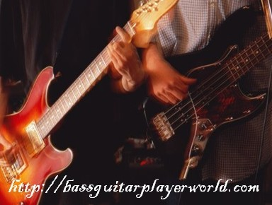 improvise bass guitar