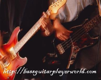 improvise bass guitar