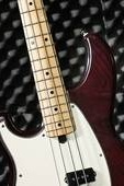 patterned bass and fretboard