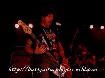 singing in a rockband