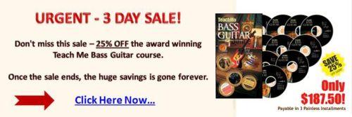 teach me bass guitar sale